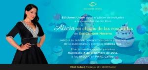 Alicia en el pais de las rosquillas se presenta en Madrid
