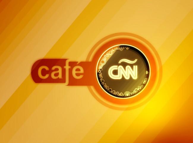 Eva Campos Navarro en Café CNN